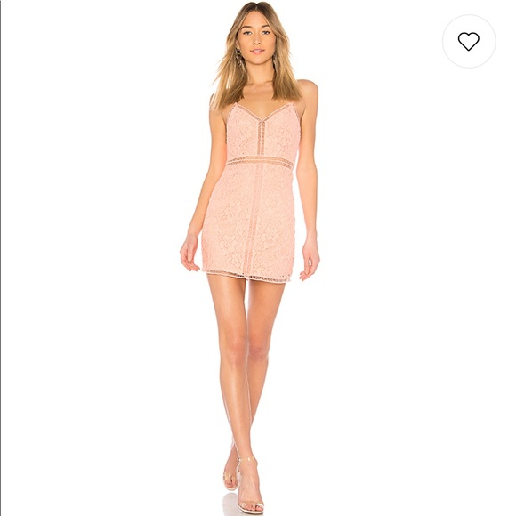fe877498a08 NBD Coleen Dress in Salmon